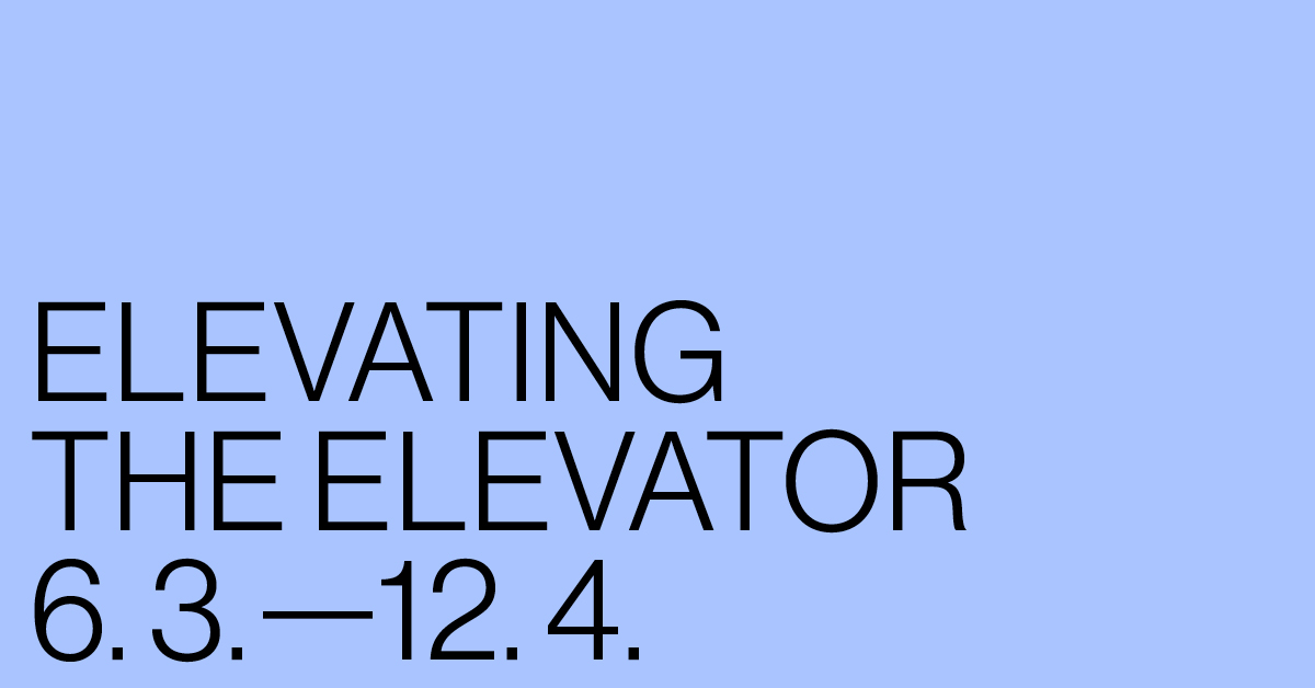 ELEVATING THE ELEVATOR - Duplicate